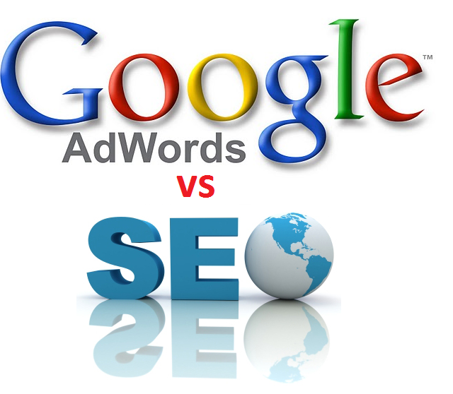google adwords vs seo